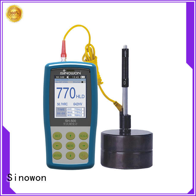 Sinowon portable hardness tester supplier for precision industry