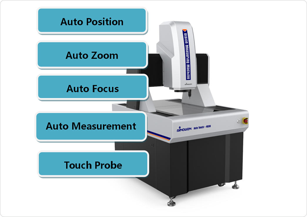 Sinowon autovision video measuring machine series for commercial-1
