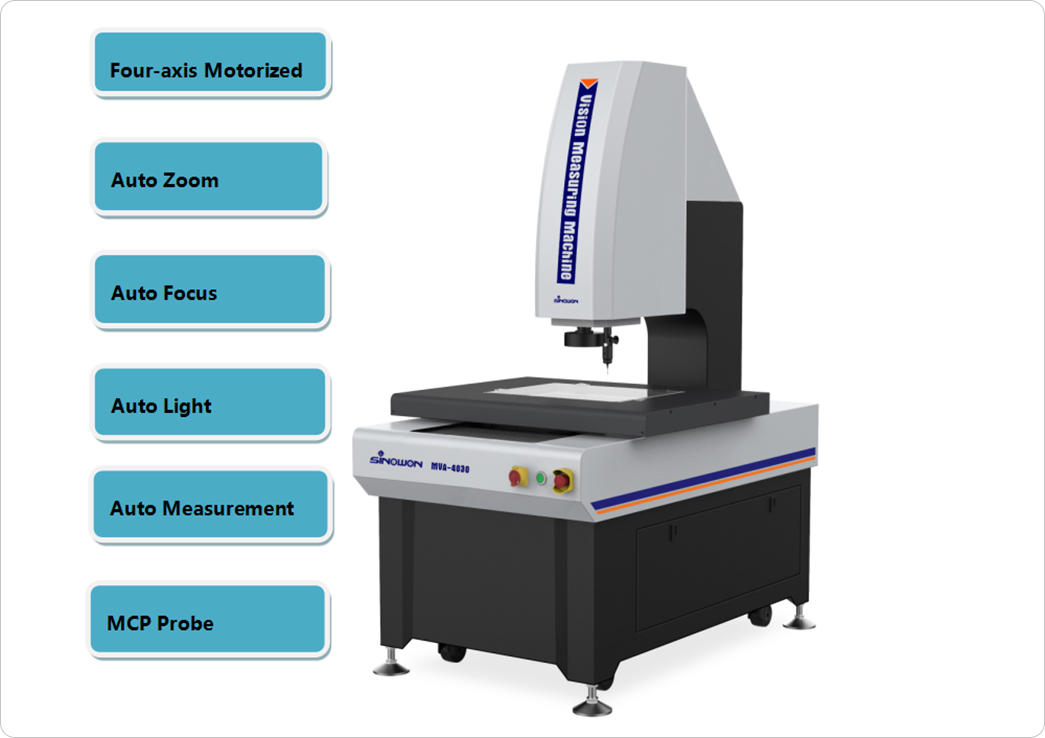 Sinowon Brand auto touch aerospace video measuring system prices chemical