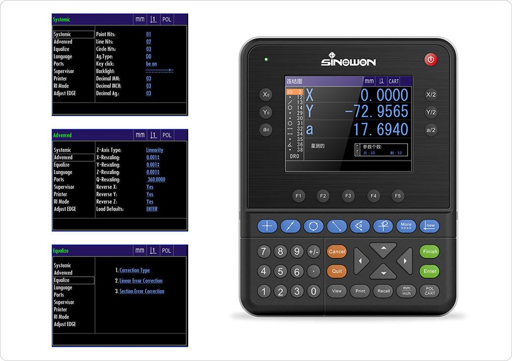 Sinowon digital readout systems wholesale for nonferrous metals-1