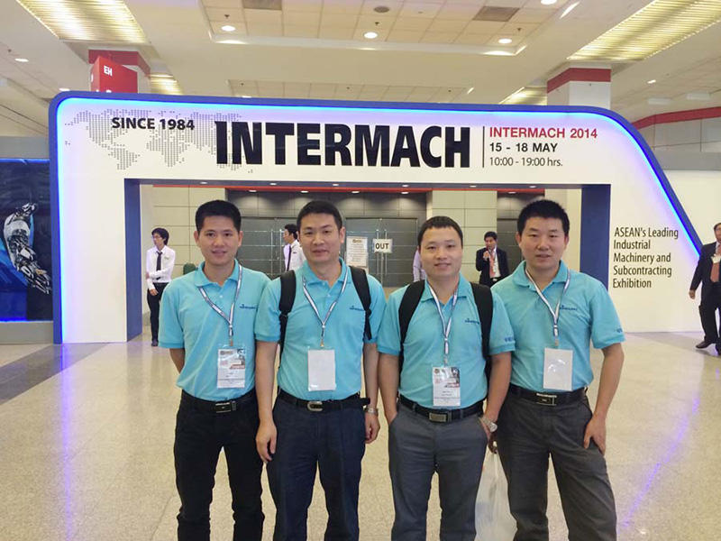 Sinowon highlights of Intermach2014 Exhibition in Bangkok/Thailand in May, 2014