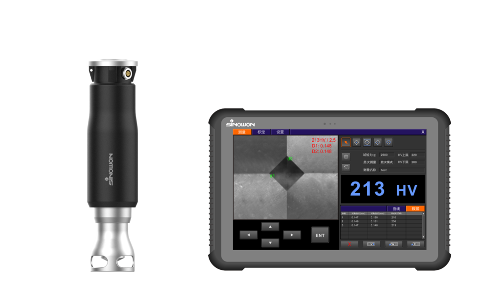 Portable Vicker Hardness Tester POT Series