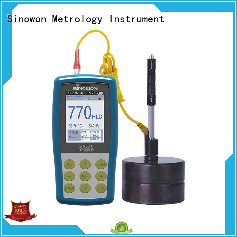 Sinowon portable hardness tester factory price for industry