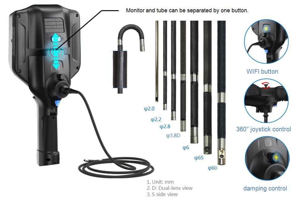 Sinowon dellon videoscope supplier for commercial-9