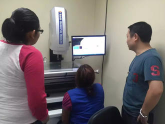 What is Error of indication and Repeatability of Vision Measuring Machine