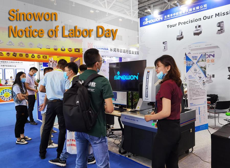 Sinowon Notice of Labor Day