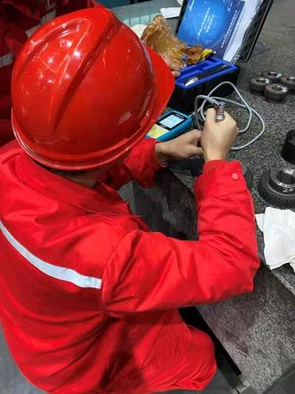 CHINESE WELL-KNOWN PETROCHEMICAL COMPRESSOR MANUFACTURE PURCHASED SINOWON SU400 DYNASONIC HARDNESS TESTERS