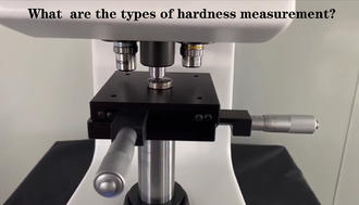 TYPES OF HARDNESS TESTING