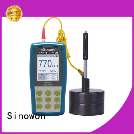 Sinowon certificated portable hardness tester machine supplier for industry