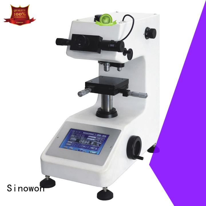 Sinowon vicker hardness tester manufacturer for thin materials