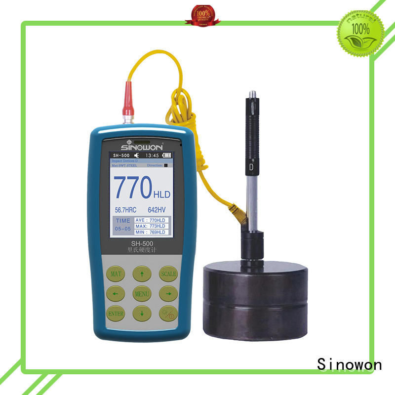 Sinowon certificated portable hardness tester machine factory price for commercial