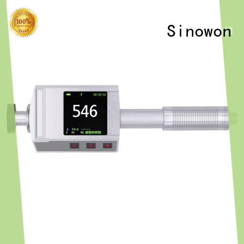 Sinowon stable portable hardness tester supplier for commercial