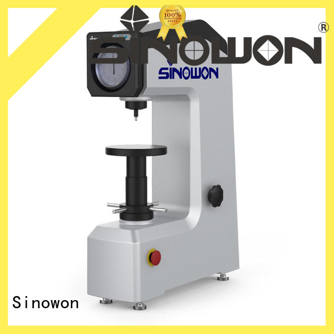 Sinowon rockwell hardness of steel series for small areas