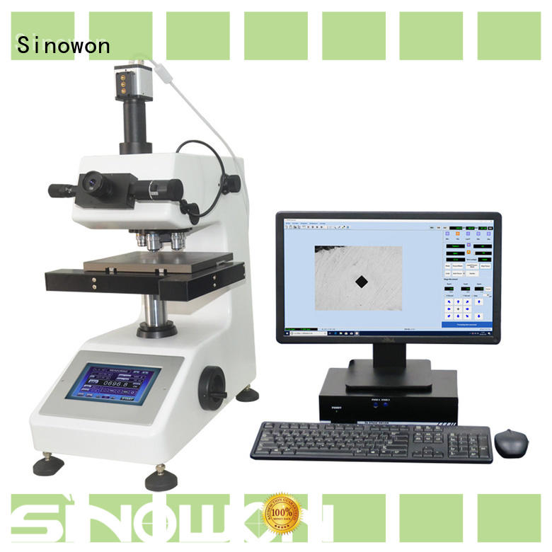 Sinowon microhardness test manufacturer for small areas