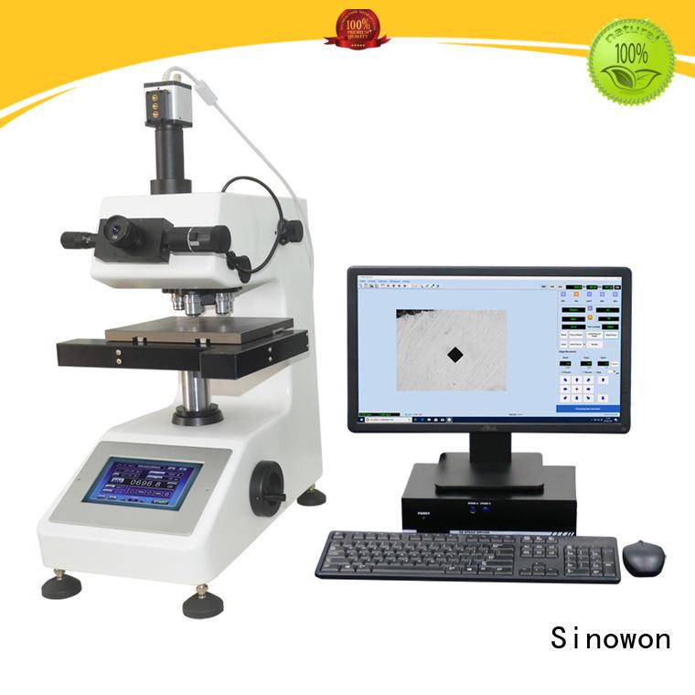 Sinowon hardness testing machine customized for small parts