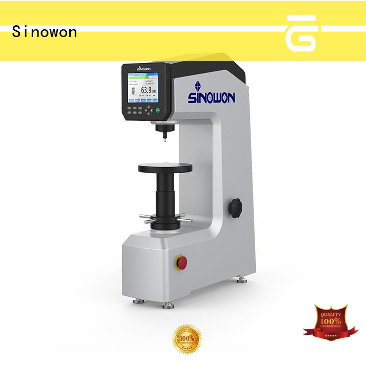 Sinowon hardness test manufacturer for measuring