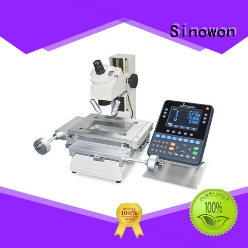 Sinowon elegant measuring microscope factory for steel products