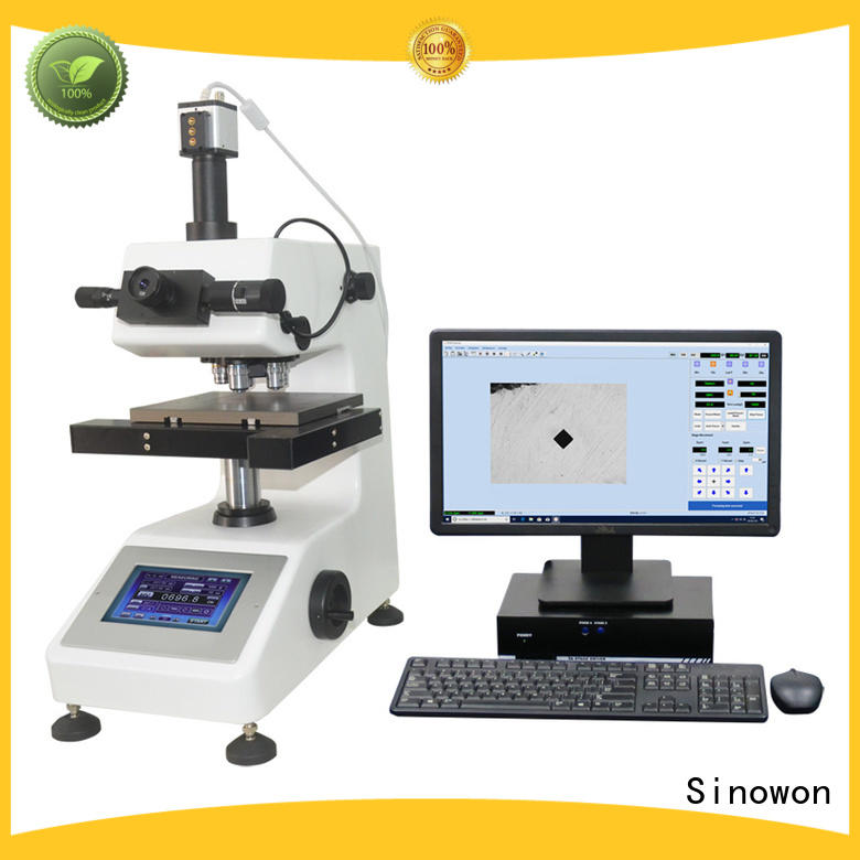Sinowon vickers microhardness customized for thin materials
