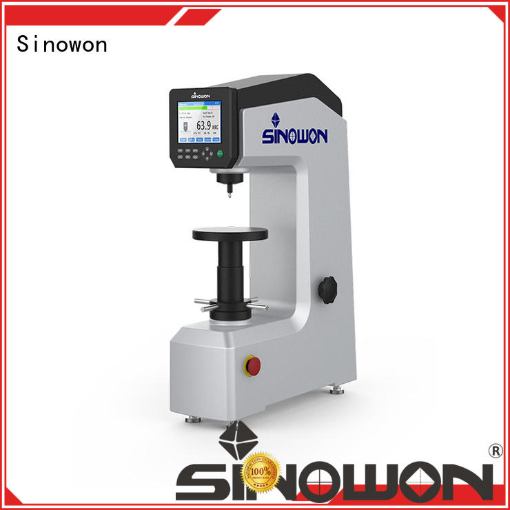 automatic unloading automatic conversion digirock Sinowon Brand rockwell hardness supplier