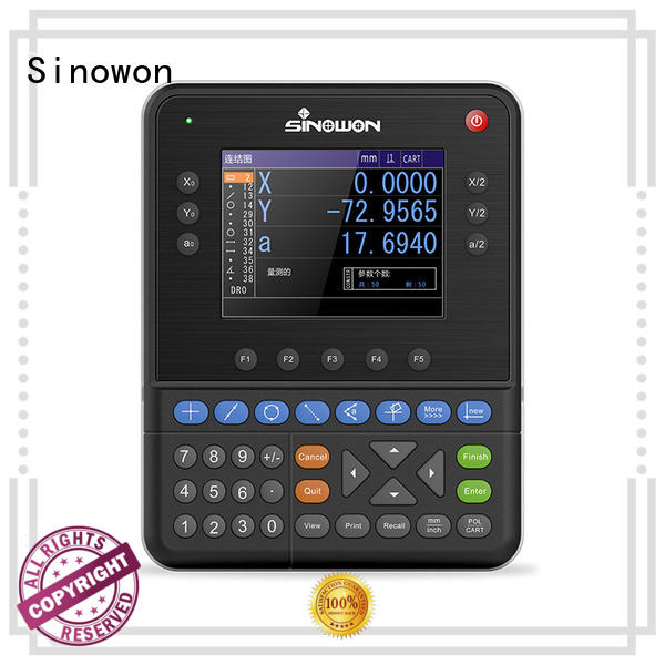 Sinowon quality digital measuring device dp400 for soft alloys