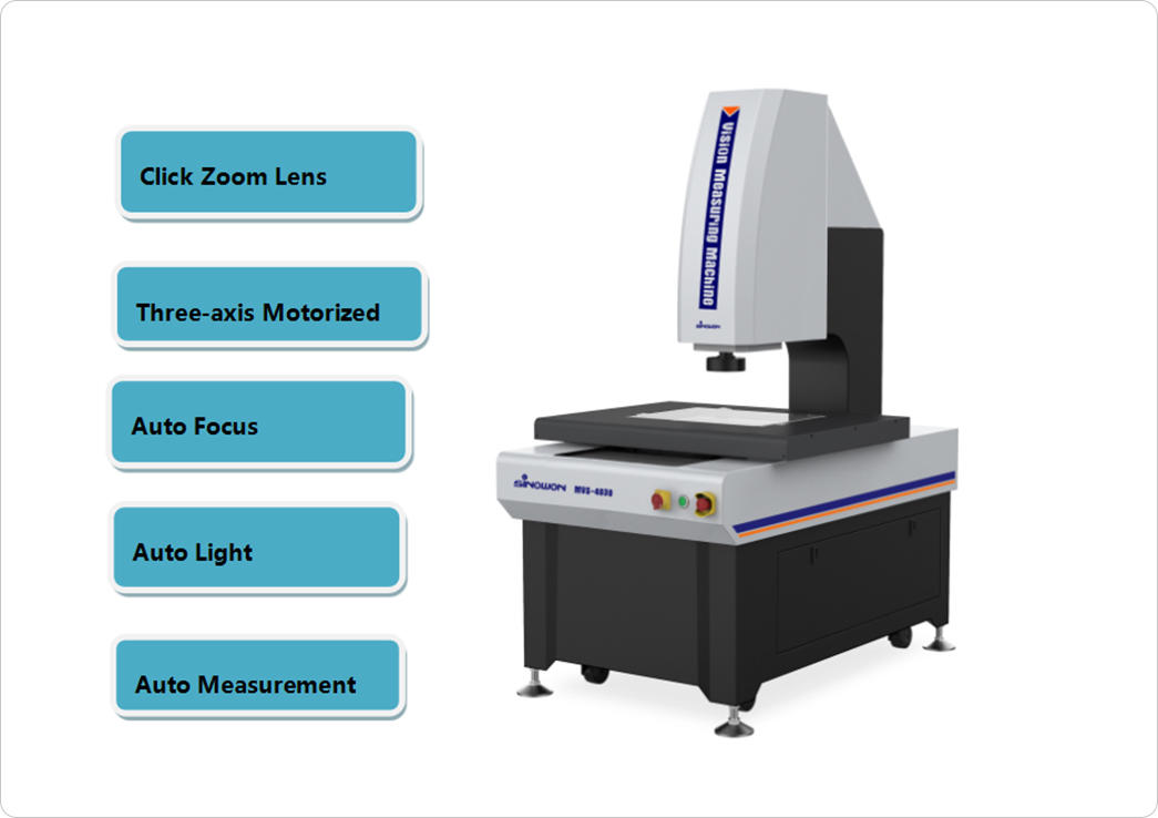 2.5D MVS Automatic Video Measuring System-1