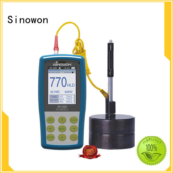 stable portable hardness testing equipment supplier for industry Sinowon