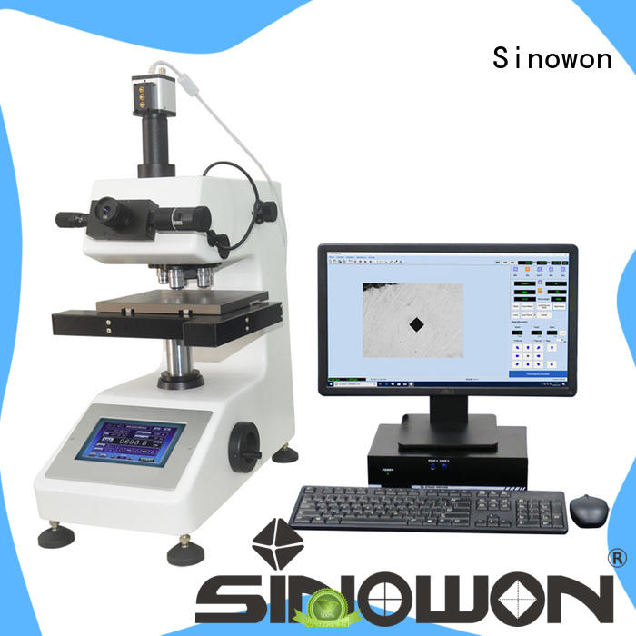 Sinowon vicker hardness tester manufacturer for measuring