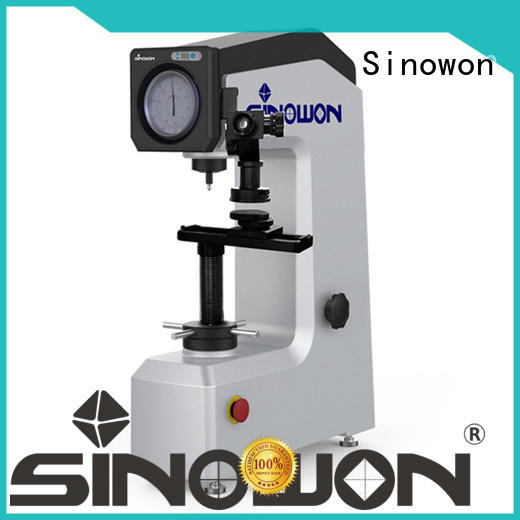 Sinowon durable rockwell machine customized for thin materials