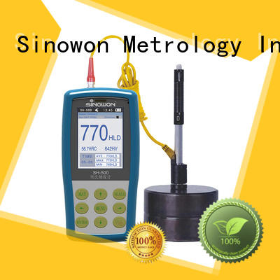 Sinowon certificated portable hardness tester machine personalized for precision industry