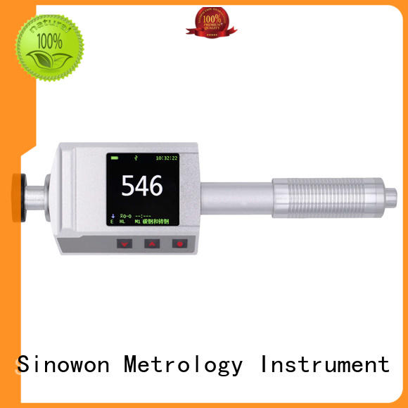 Sinowon certificated portable hardness tester factory price for commercial