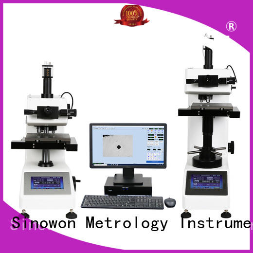 Sinowon practical vicker hardness tester from China for thin materials