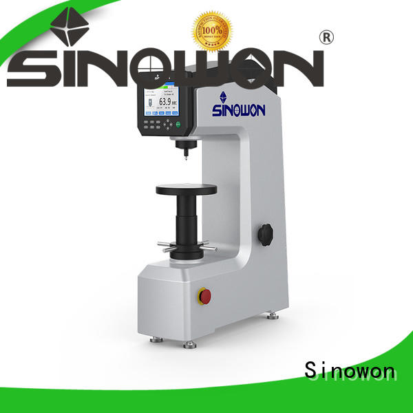 Sinowon digital rockwell hardness tester price directly sale for small parts