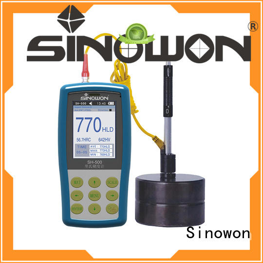 Sinowon quality portable hardness tester machine supplier for commercial