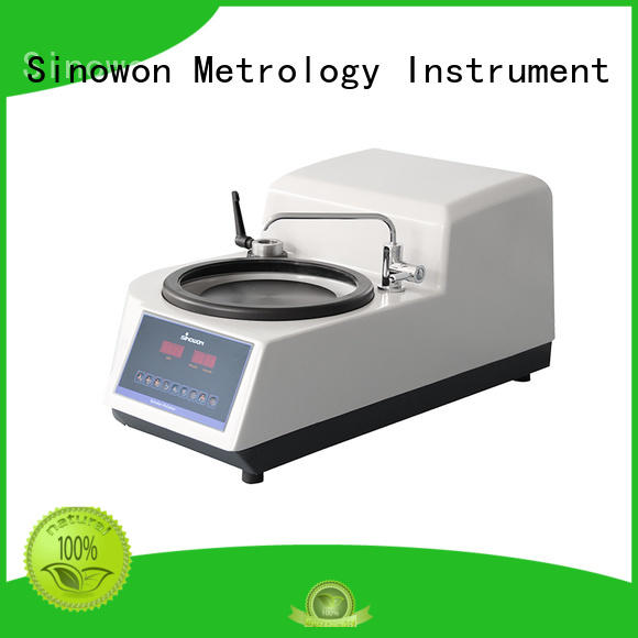 Sinowon Brand large vision window aluminum alloy simple operation metallographic polishing equipment replaceable fixture