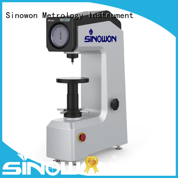 Sinowon hot selling rockwell test manufacturer for thin materials