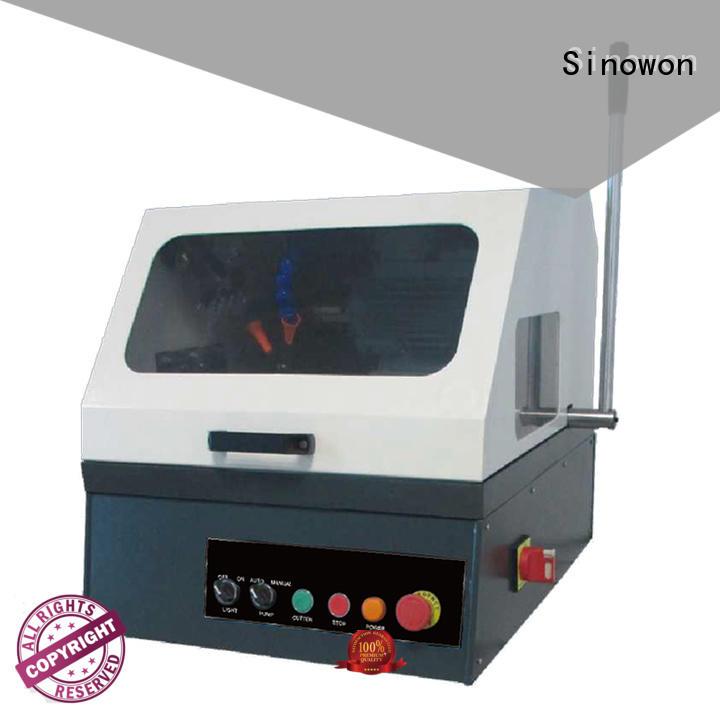 Sinowon single grinding and polishing equipment factory for aerospace