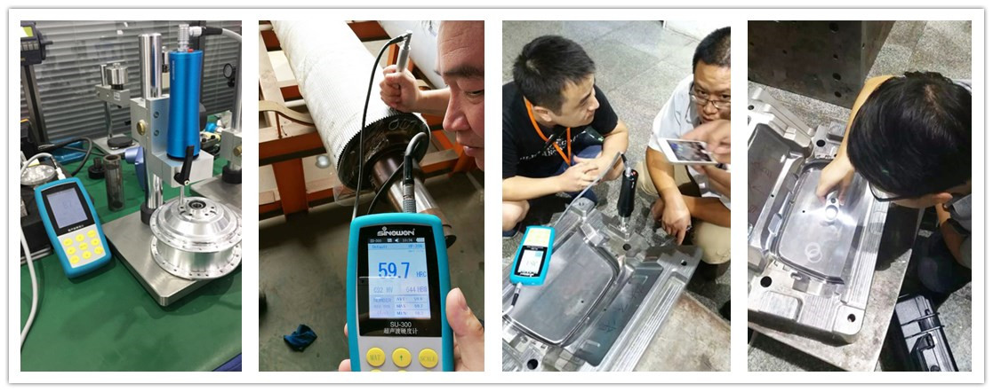 stable ultrasonic thickness gauge wholesale for shaft-2