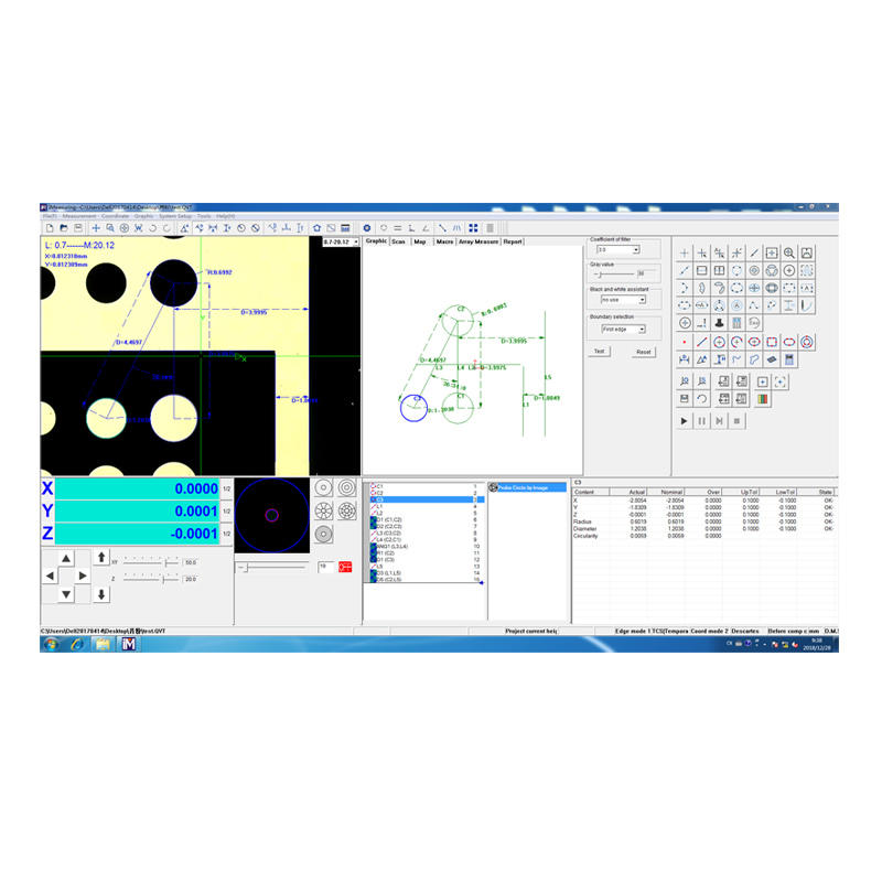 Vision Measuring Software iMeasuring