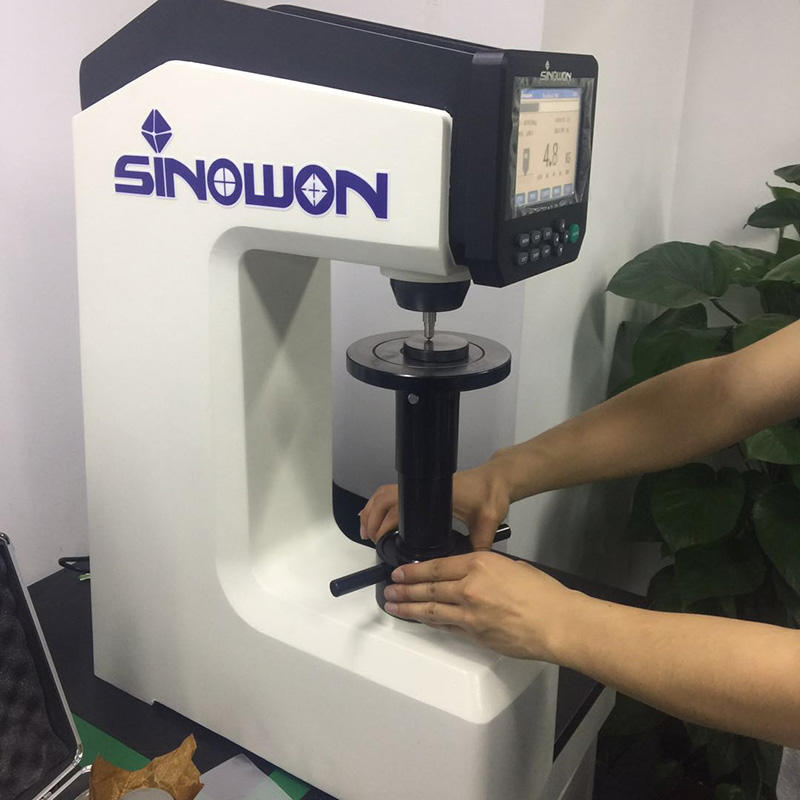 Sinowon hardness test manufacturer for measuring