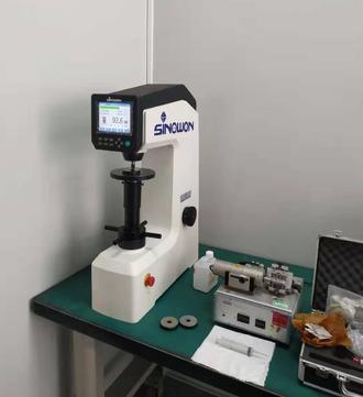 Hardware Factory Purchase Touch Screen Digital Rockwell Hardness Tester DigiRock DR3 Again