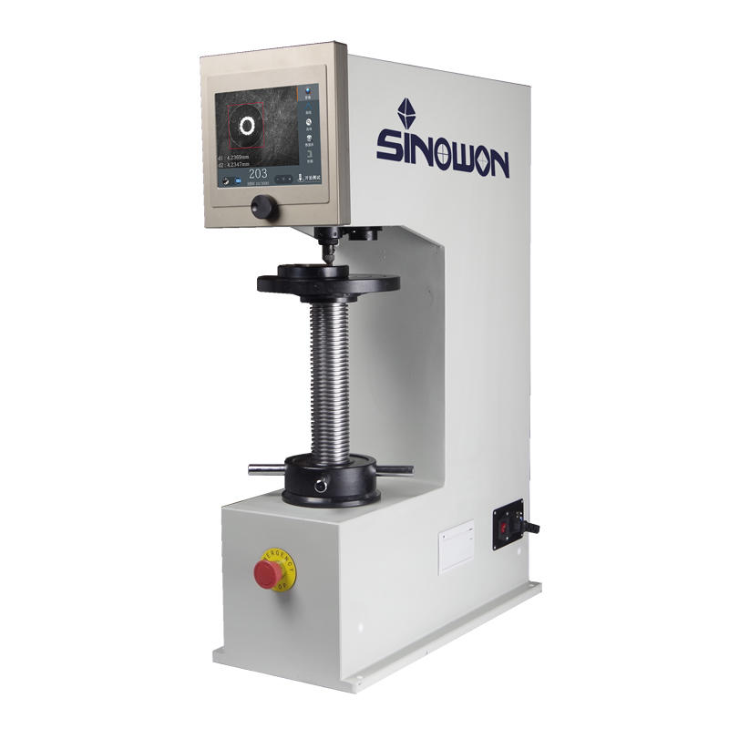 Sinowon brinell hardness test experiment series for cast iron
