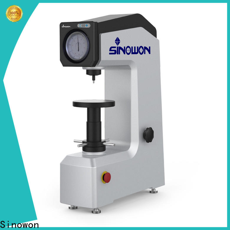 quality rockwell hardness testing machine series for thin materials