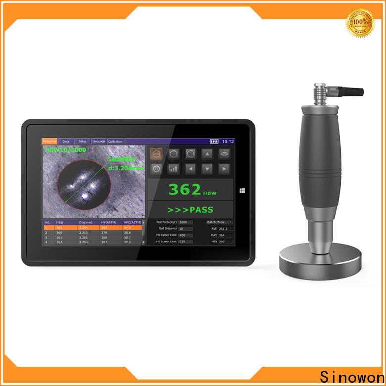 Sinowon brinell hardness tester series for soft alloys