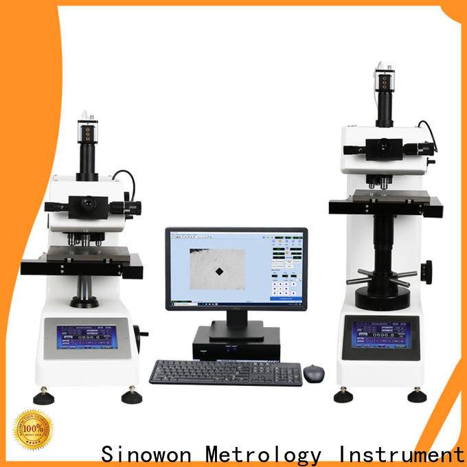 Sinowon reliable microhardness test from China for thin materials