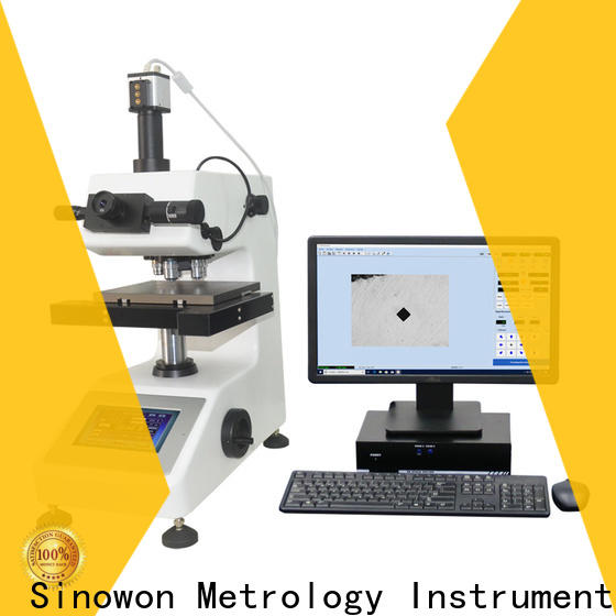 Sinowon micro vickers hardness tester manufacturer for thin materials
