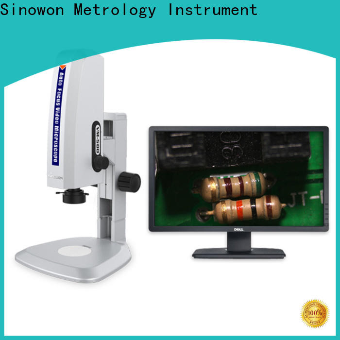 Sinowon certificated professional microscope wholesale for steel products