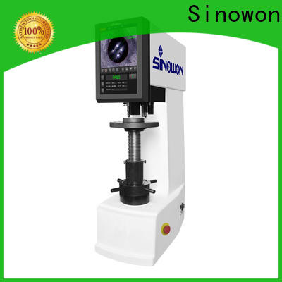 Sinowon quality brinell hardness test experiment customized for steel products
