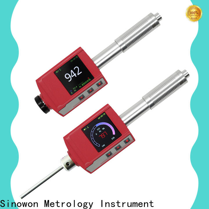 Sinowon stable portable hardness tester supplier for precision industry