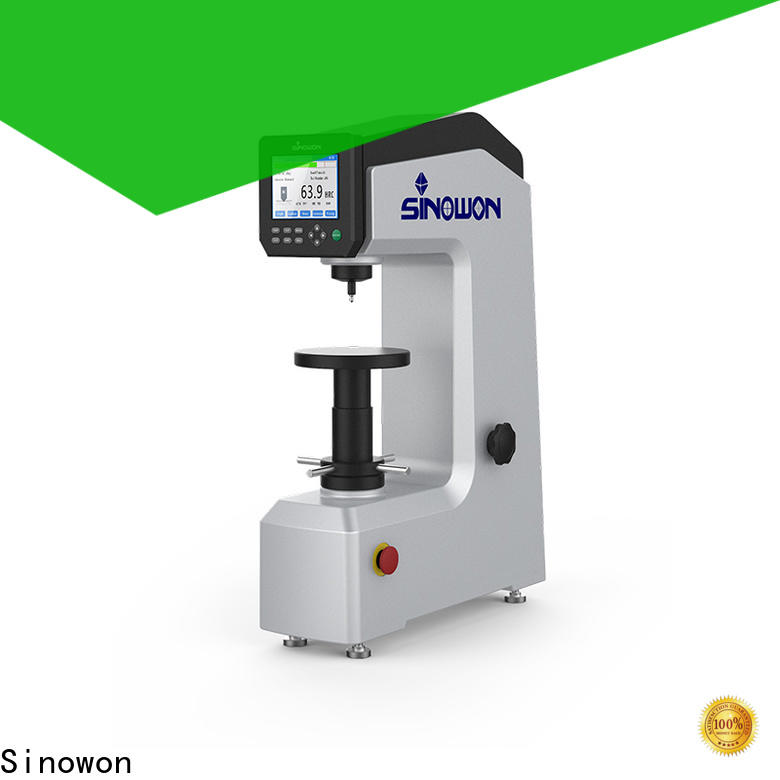 Sinowon hardness testing machine customized for small parts