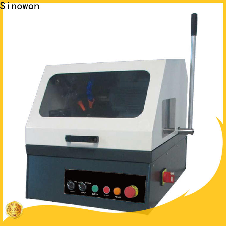 Sinowon efficient metallographic equipment design for LCD